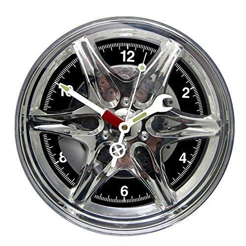 Auto Wheel Wall Clock