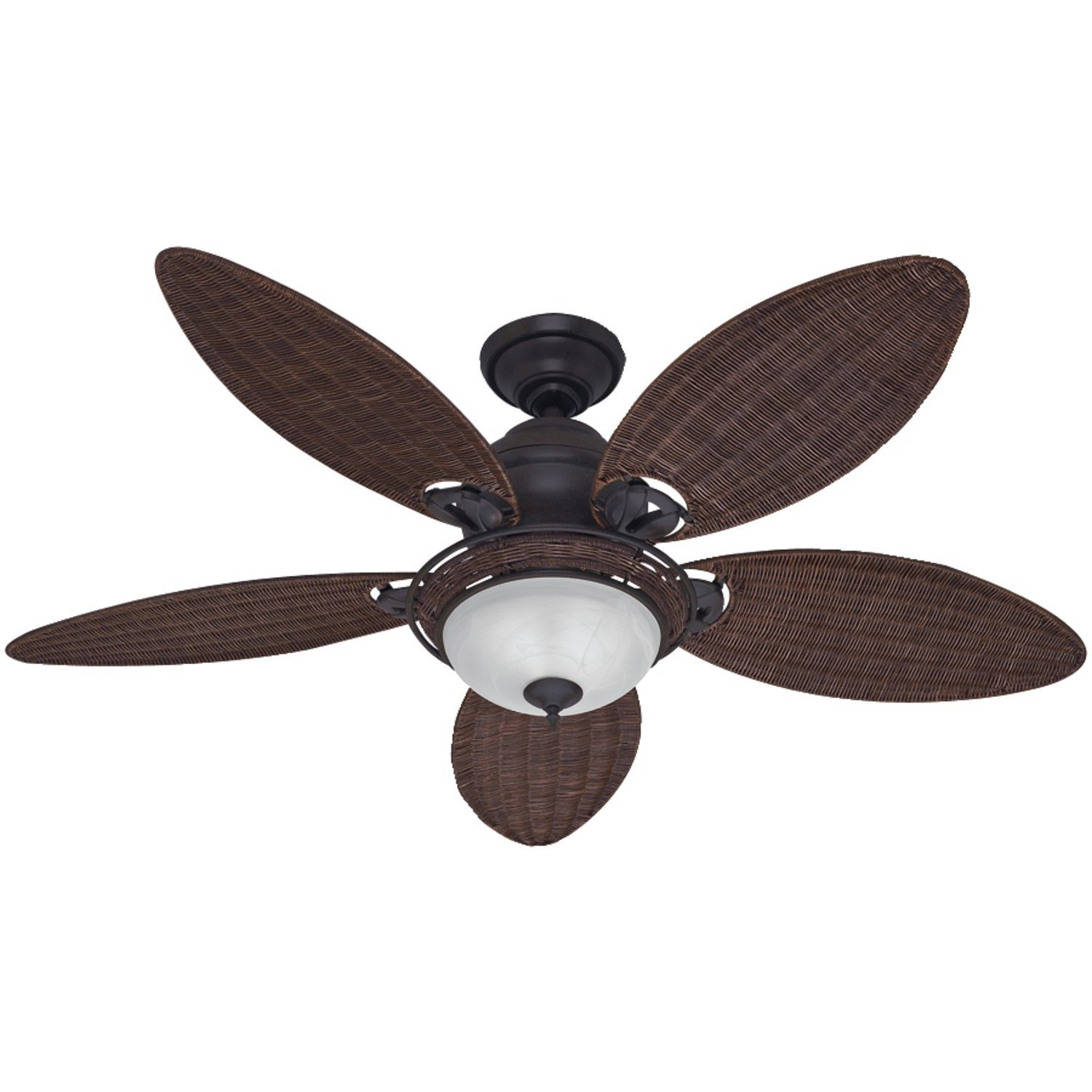 Best man cave ceiling fans man cave mastery hunter fan company 54095 caribbean breeze 54 inch ceiling fan aloadofball Image collections