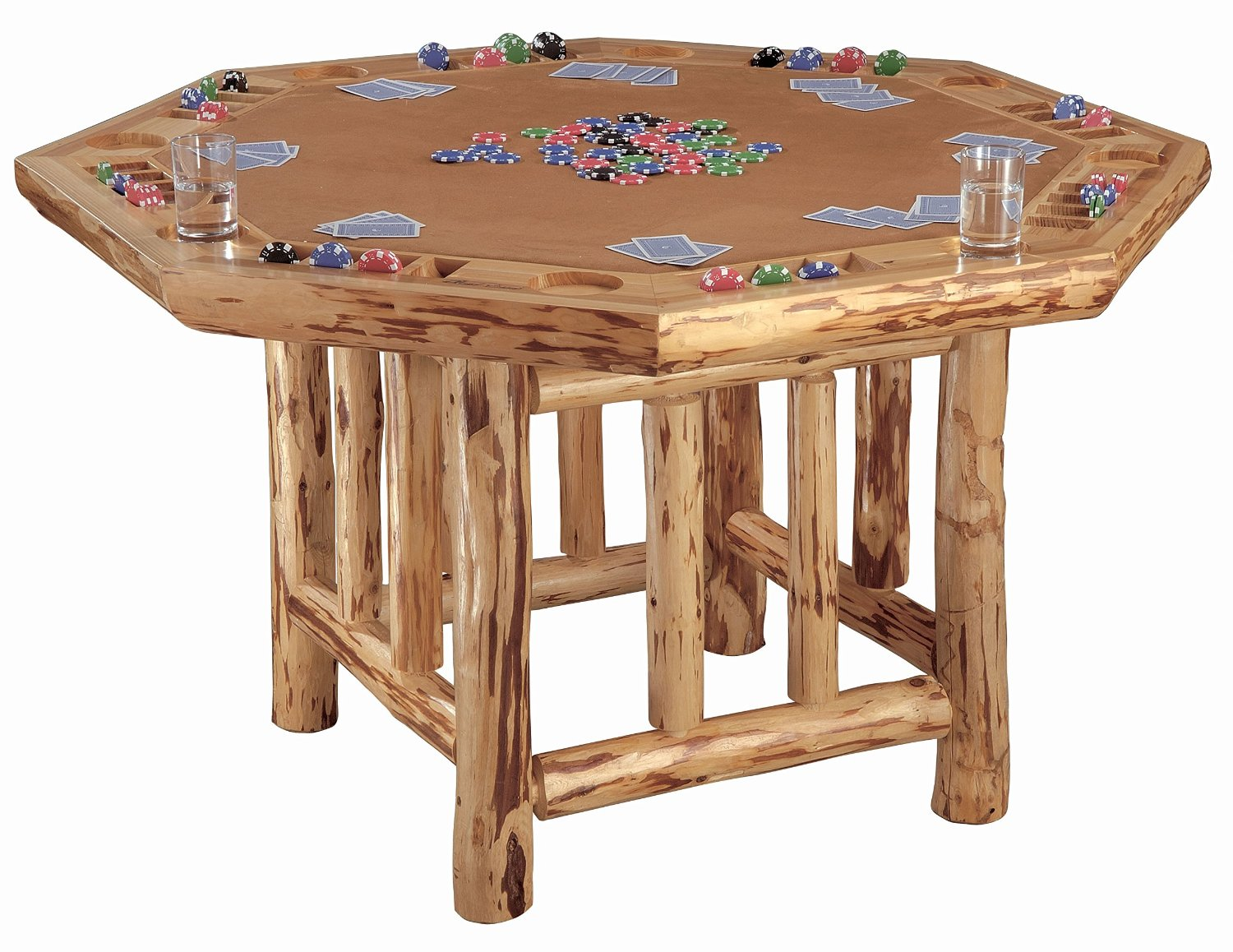 man cave poker table