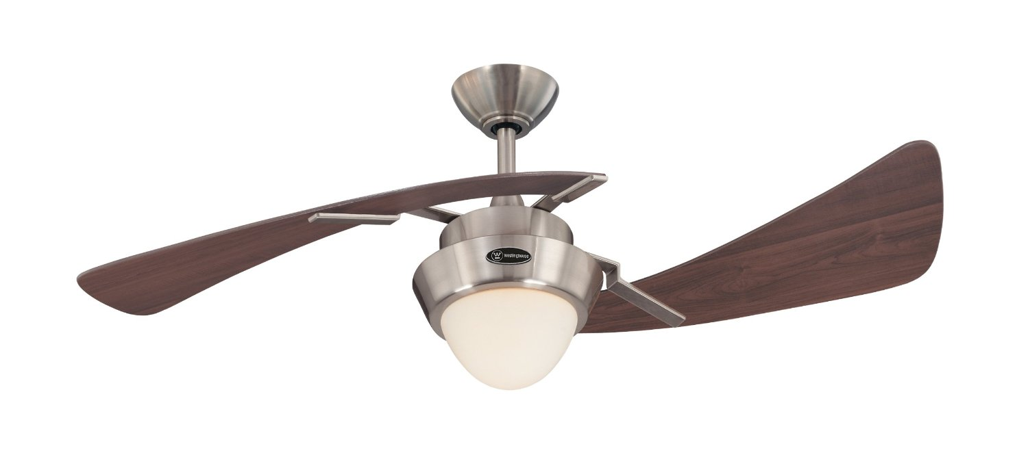 Roll over image to zoom in  Product Energy Guide Westinghouse 7214100 Harmony Two-Light 48-Inch Two-Blade Indoor Ceiling Fa