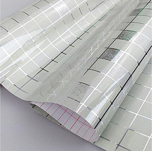 DOOXOO High-grade Aluminum Foil Wall Wallpaper