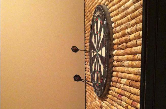 Cork Dart Board