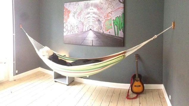 DIY Indoor Hammock