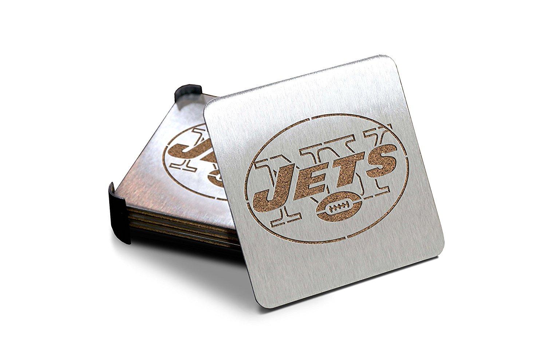 NFL Stainless Steel Team Coasters