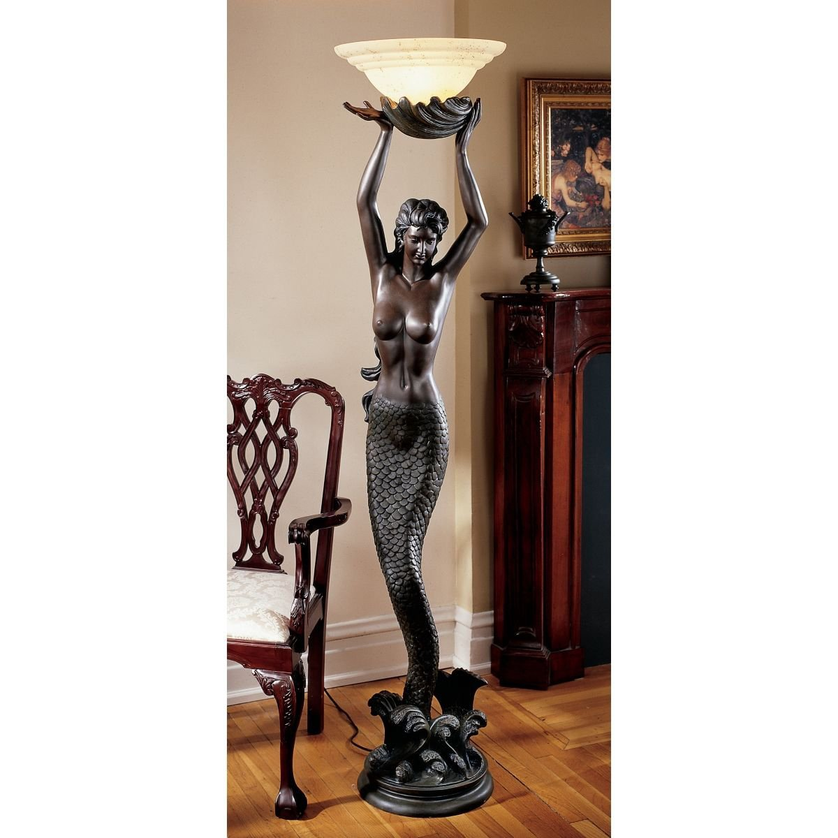 Floor lamp goddess