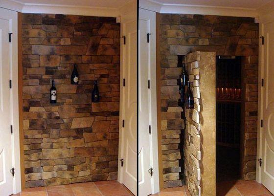 Man cave secret door