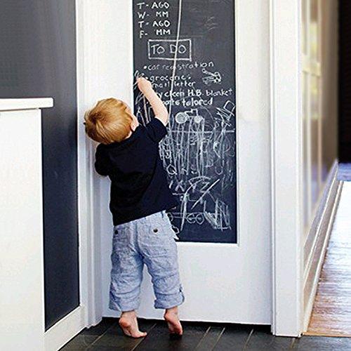 EachWell DIY Vinyl Chalkboard Removable Blackboard Wall Sticker